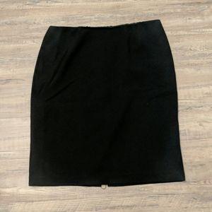 Bob Mackie size 14 black skirt